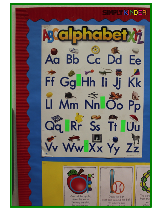 Alphabet formation poems simply kinder i separate my green words decodable words and red words sight words with color coding all the time green means go ahead and sound out and red means spiritdancerdesigns Images