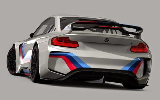 Gambar BMW Vision GT6 - bagian belakang