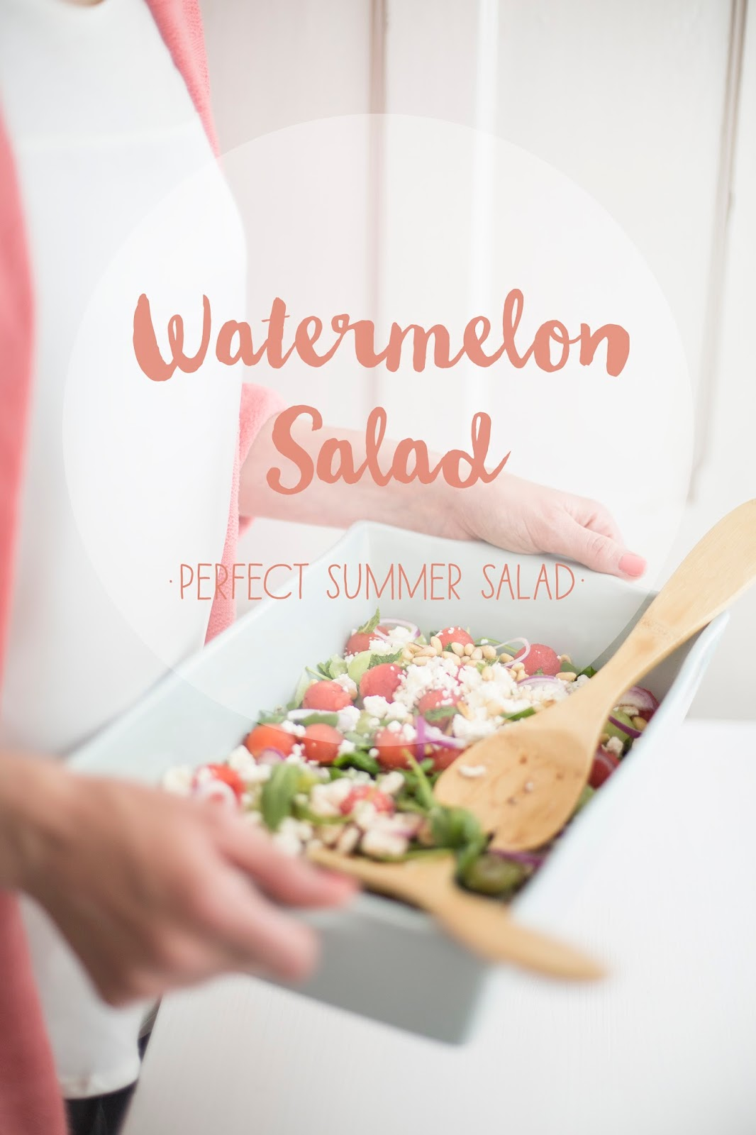 Watermelon Salad - Wassermelonensalat