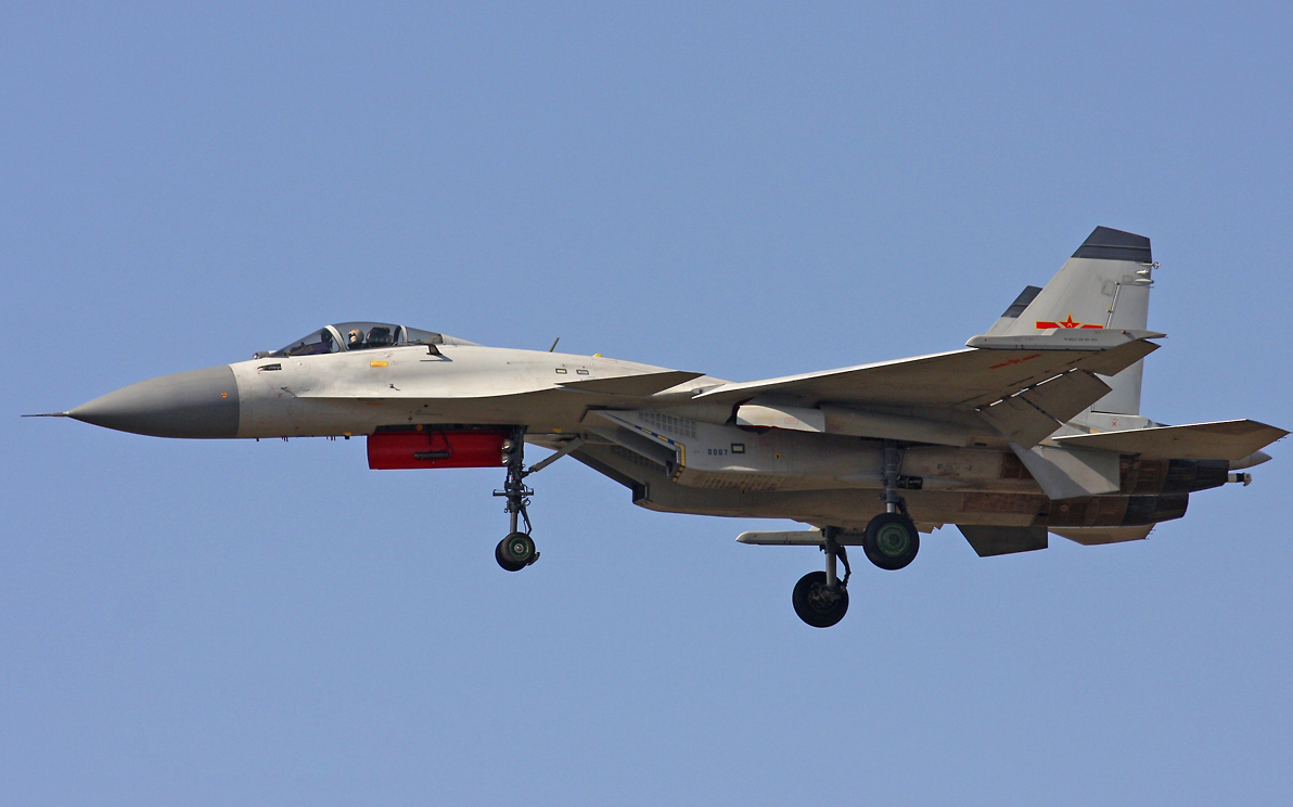 High Resolution Images Chinese J-15 Flying Shark Naval Fighter Jet on ...