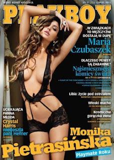 Playboy Polônia Julho 2011