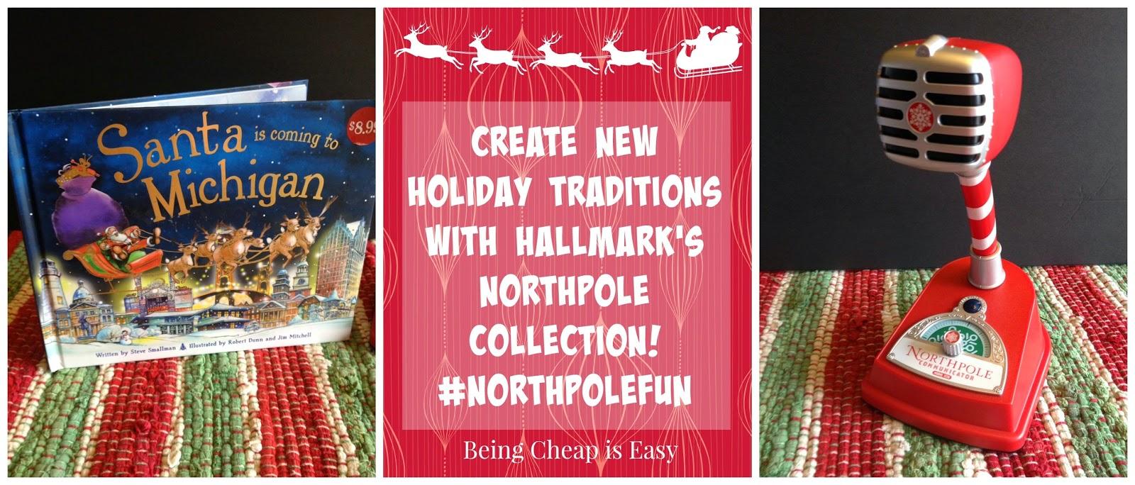 #NorthpoleFun, Hallmark, Walmart, Northpole, Santa in Michigan