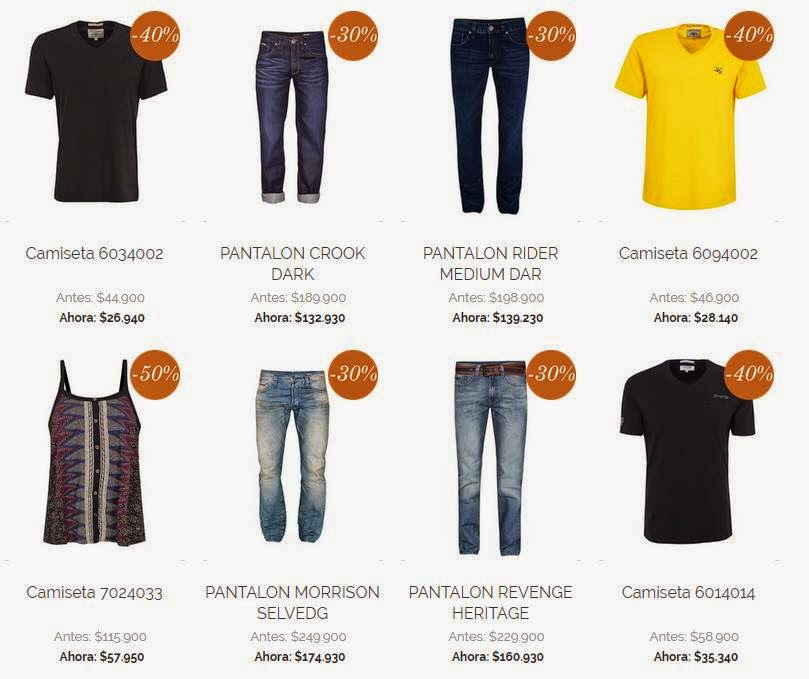 camisetas y pantalones Chevignon Black Friday 14