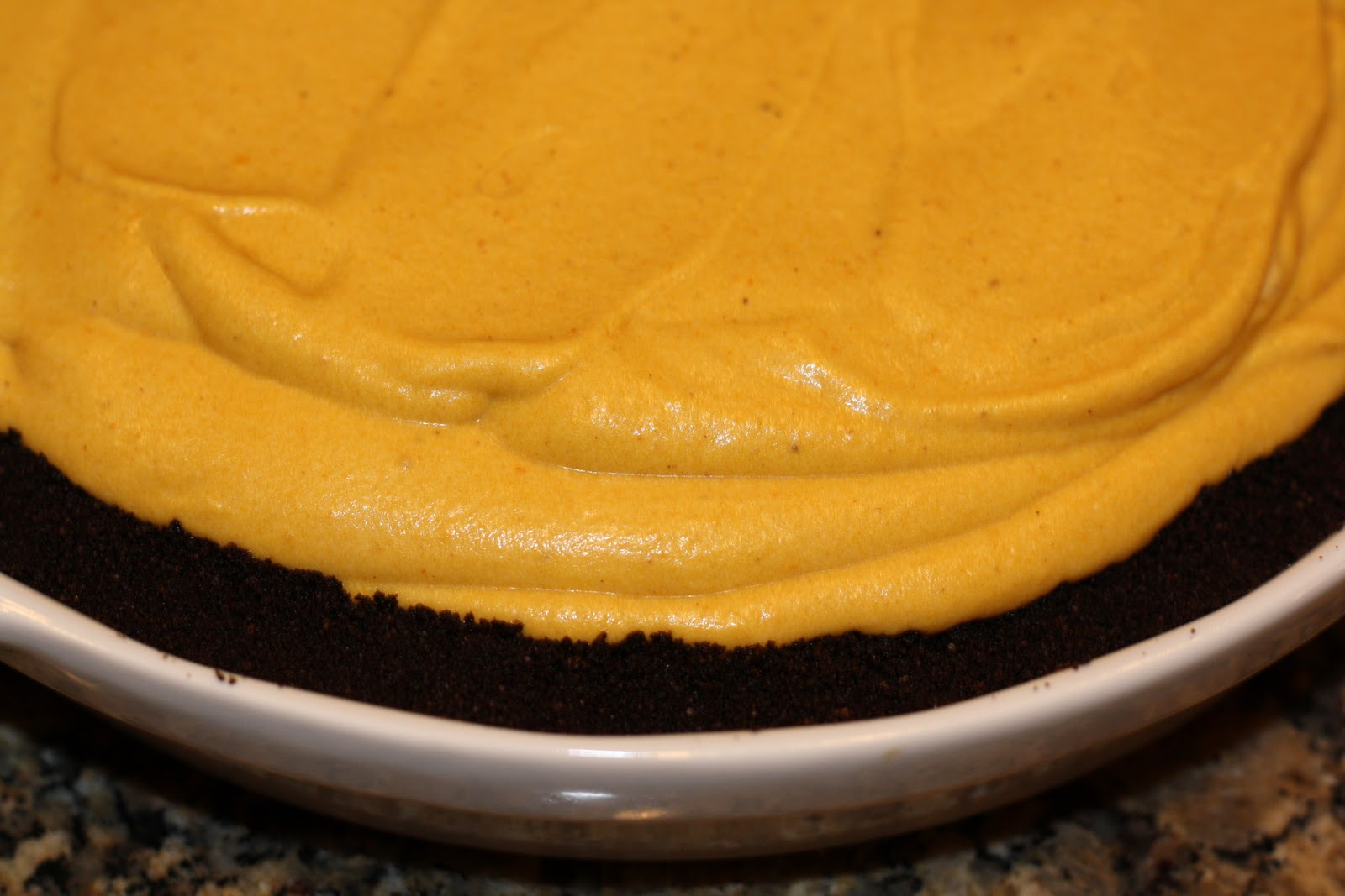 sunday sweets: icebox pumpkin-mousse pie