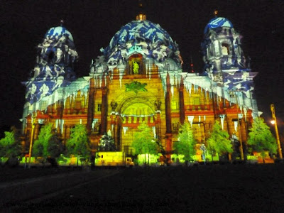 fetival of lights, berlin, illumination, 2012, berliner dom
