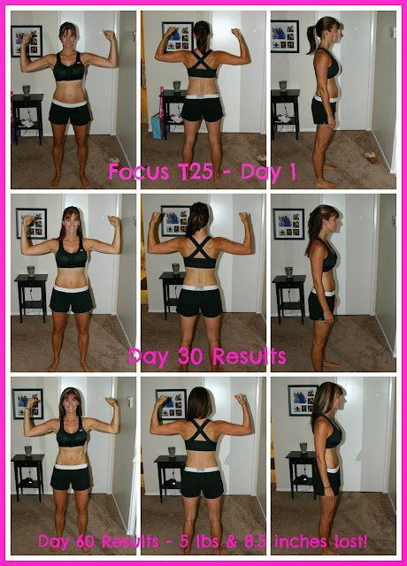 Success Story Transformation - 60-Day Transformation -T25, Clean Eating, Shakeology