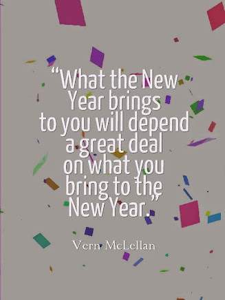What will you bring to 2015?????