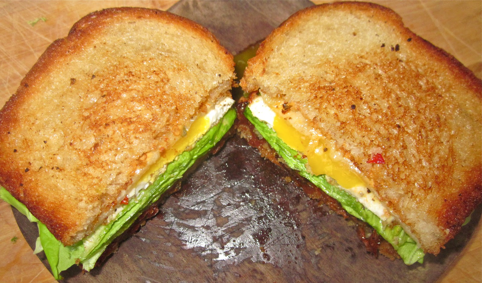 Bacon And Egg Sandwich With Pepper Jack Recipes — Dishmaps