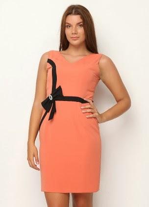 Fashionable Büyük Beden Elbise Modelleri