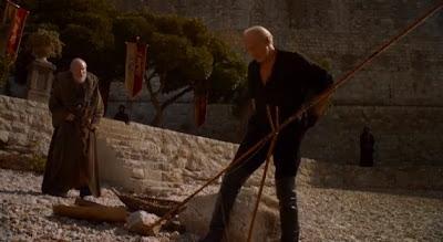 escena eliminada tywin lannister maestre pycelle 3t juego de tronos - Juego de Tronos en los siete reinos