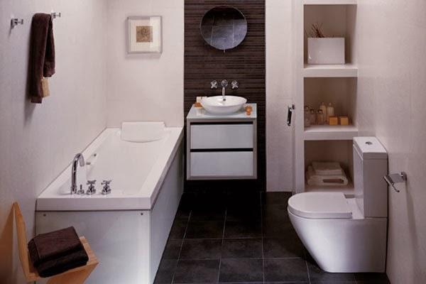 Cuarto de baño con suelo de madera: 5 suelos para el cuarto de ...