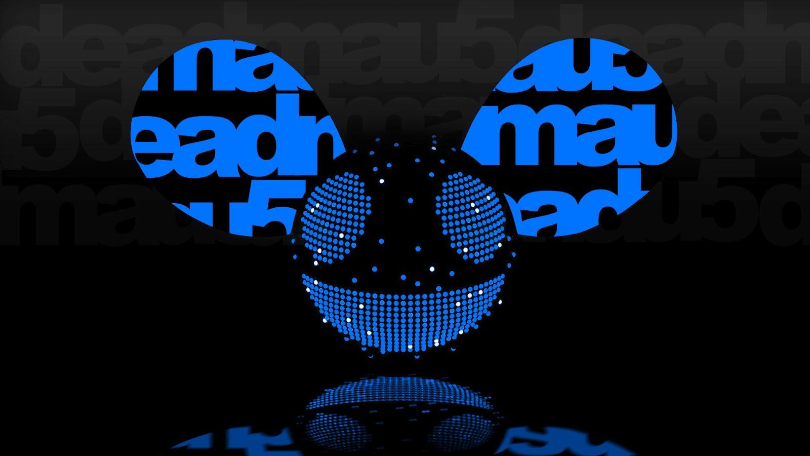 deadmau5 blue head wallpaper - photo #27