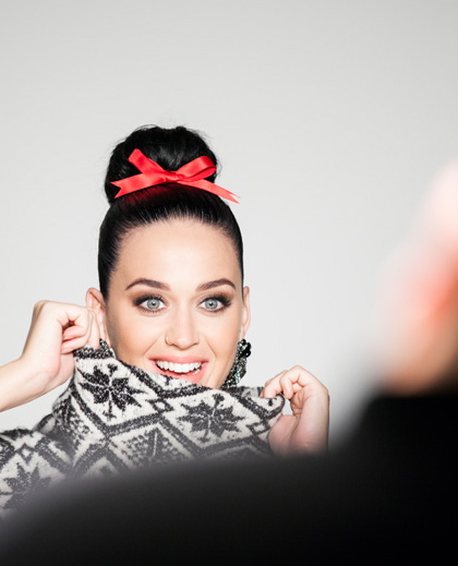 KATY PERRY FOR H&M CHRISTMAS CAMPAIGN