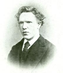 Vincent Van Gogh aged 19