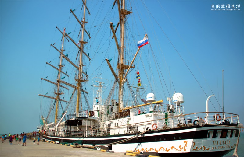 俄罗斯经典Pallada号三桅帆船