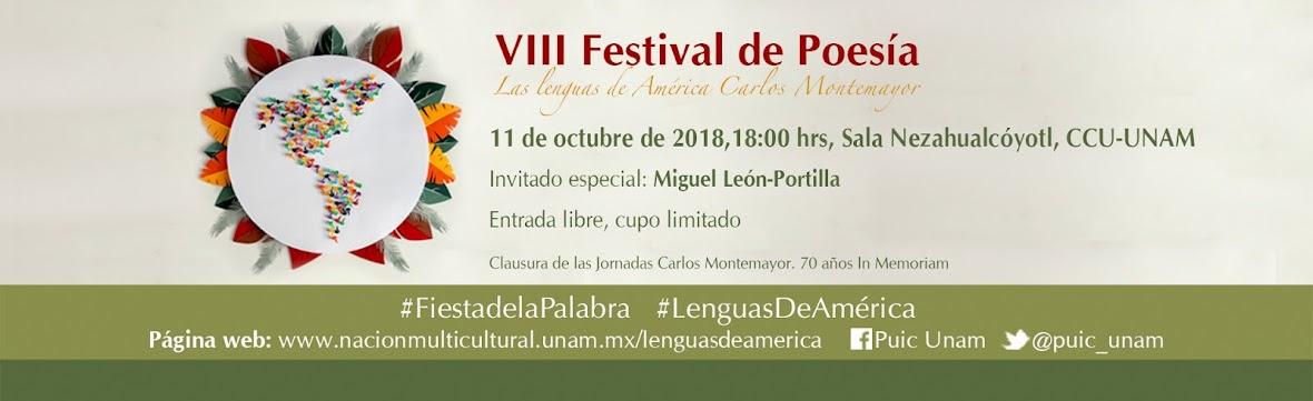 Festival de Poesía: Las Lenguas de América