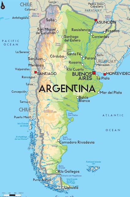 Argentina Map 2015