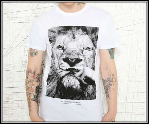 T-shirt collector Eleven Paris - Movember Urban outfitters