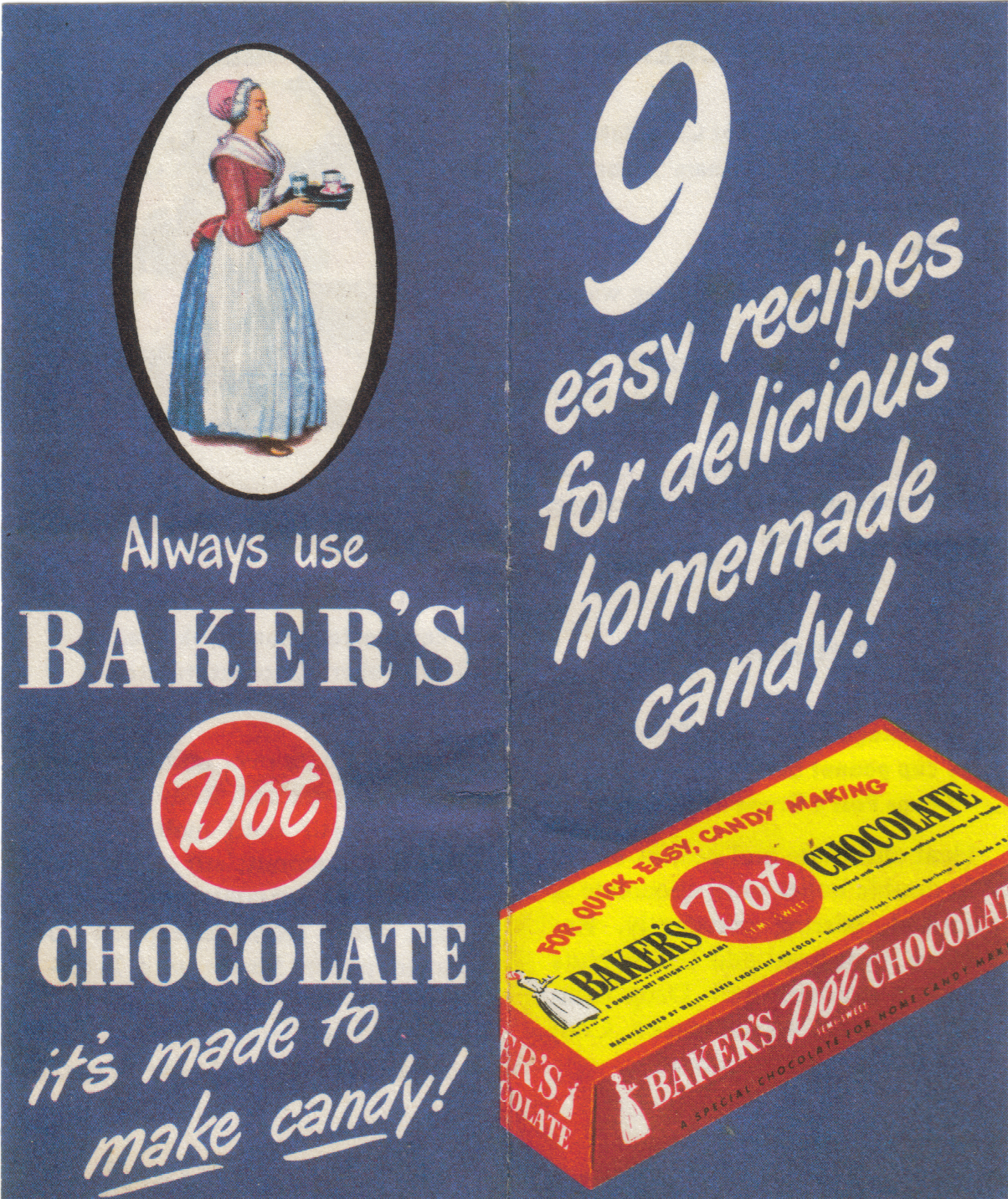 Grannie Pantries: Recipes from Baker's Dot Chocolate (not bakers ...