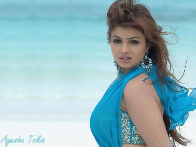 Indian Actress Ayesha Takia Glamour Wallpaper