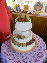 Kek Kahwin 3 Tingkat