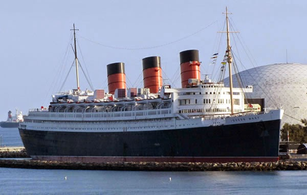 The Queen Mary - haunted place ranked 8th
