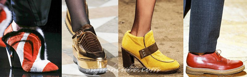 Fall 2013 Fashion Boots Trends