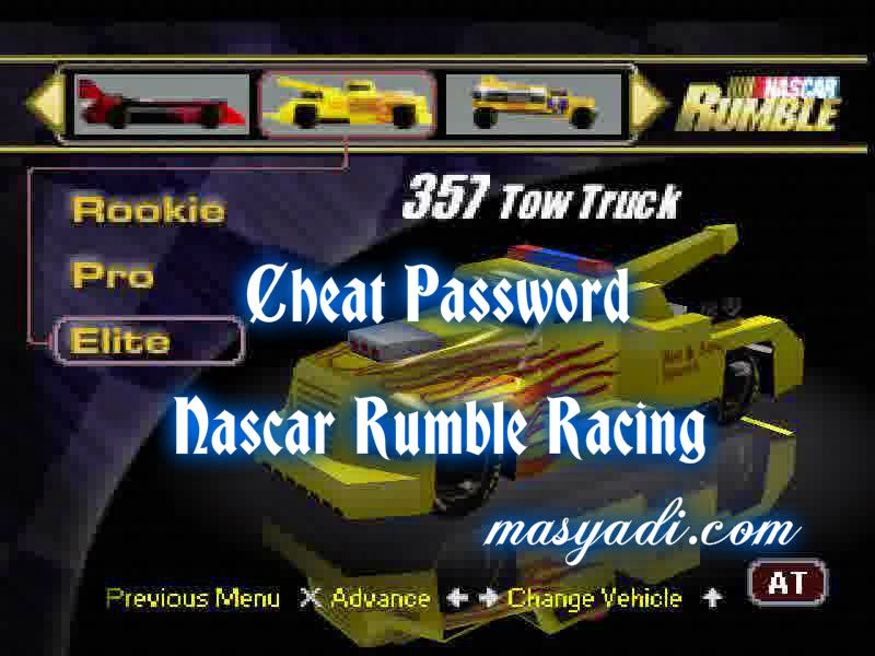 32 Cheat Terbaru Game Nascar Rumble Racing PS2