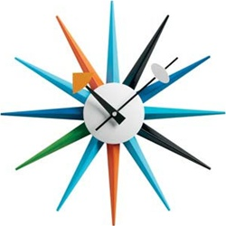 Attractive Take A Look At The Many Iterations Of The Ubiquitous Mid Century Modern  Wall Clock By George Nelson Associates. If You Were Alive In The 50s And  60s, ...