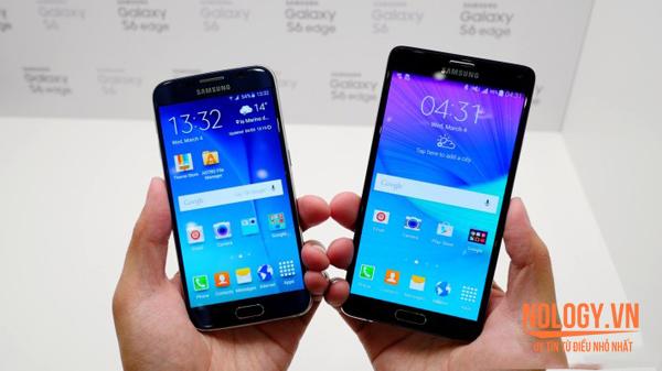 Galaxy Note 4 Docomo và Galaxy S6 Docomo