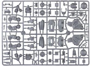Tau XV104 Riptide Battlesuit sprue