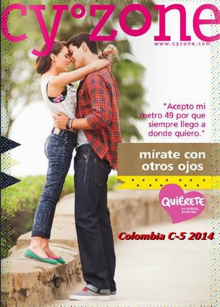 catalogo cyzone campaña 5 col 2014