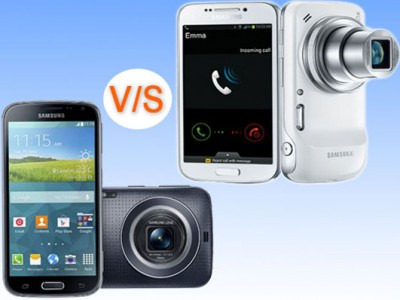 Beda Samsung Galaxy K Zoom dan Galaxy S4 Zoom