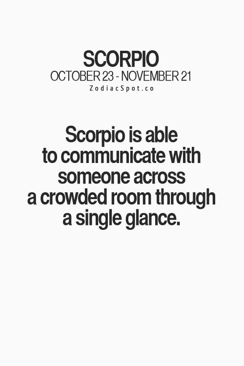Ignore when you scorpios How To