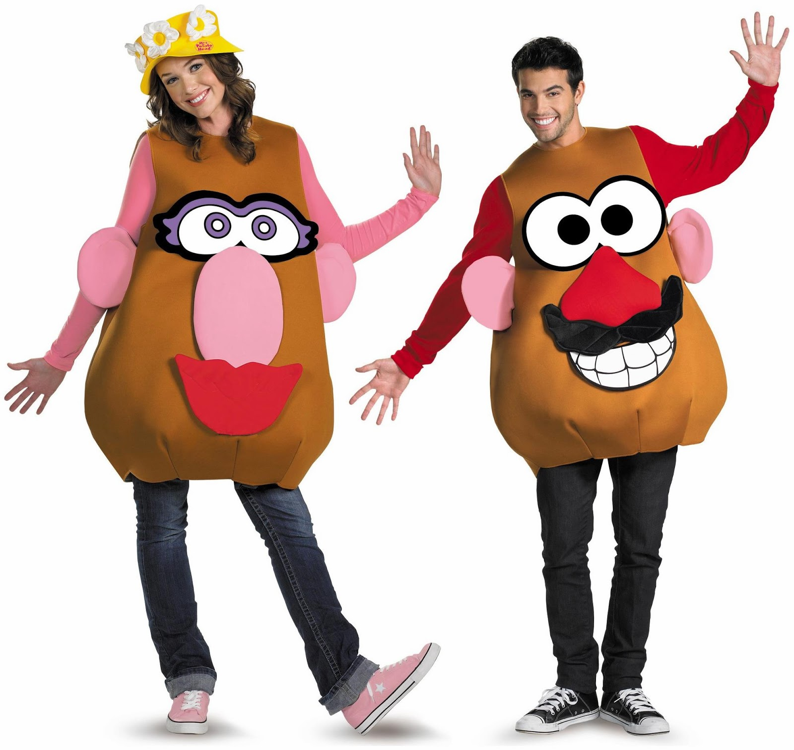 Funny-couple-costume-April-fool-day