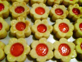 Resep Dan Cara Pembuatan Kue Kering Selai Strowberry