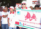 Vvs Lakshman at 5k Walk to encourage blood donation-thumbnail-8
