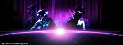 Couverture facebook daft punk