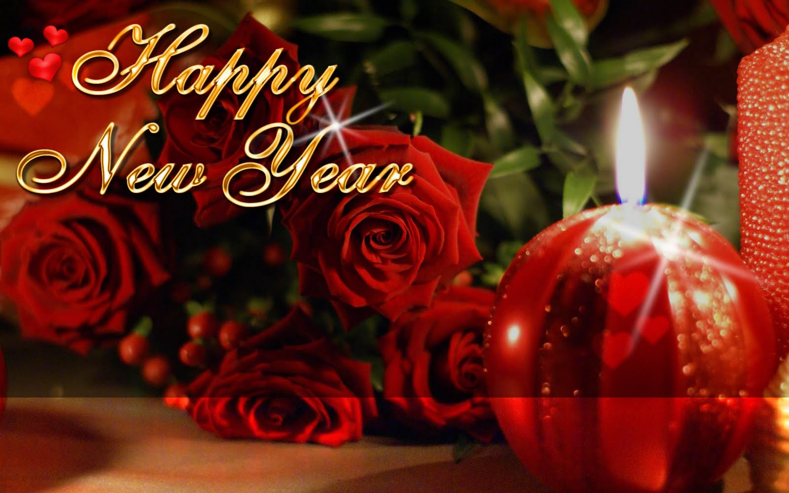 Valentines Day Roses New Year Beautiful Greeting Cards Pictures