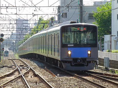 西武新宿線 準急 田無行き 20000系