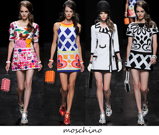 Moschino leading the line at the milan fashion week @osaseye.blogspot.com