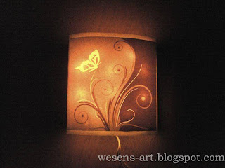 Lamp from Canvas 12     wesens-art.blogspot.com