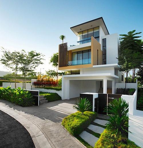 Huisontwerp moderne huisontwerp idee n buitenkant - Moderne buitenkant indeling ...