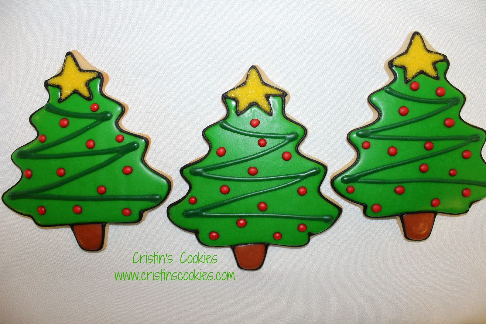 Cristin S Cookies Oh Christmas Tree Oh Christmas Tree