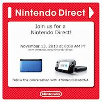 nintendo direct 11 13 13 New Nintendo Direct Event Announced