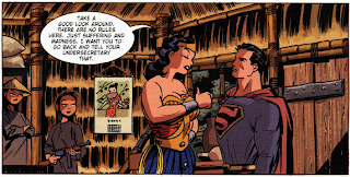 Wonder Woman taller than Superman
