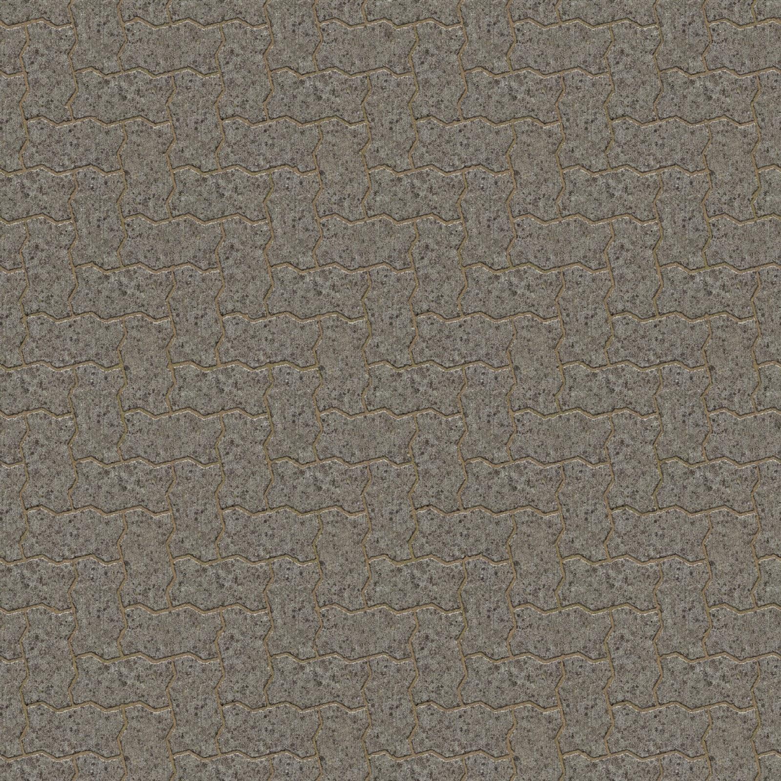 Brick pavement classic seamless texture 2048x2048