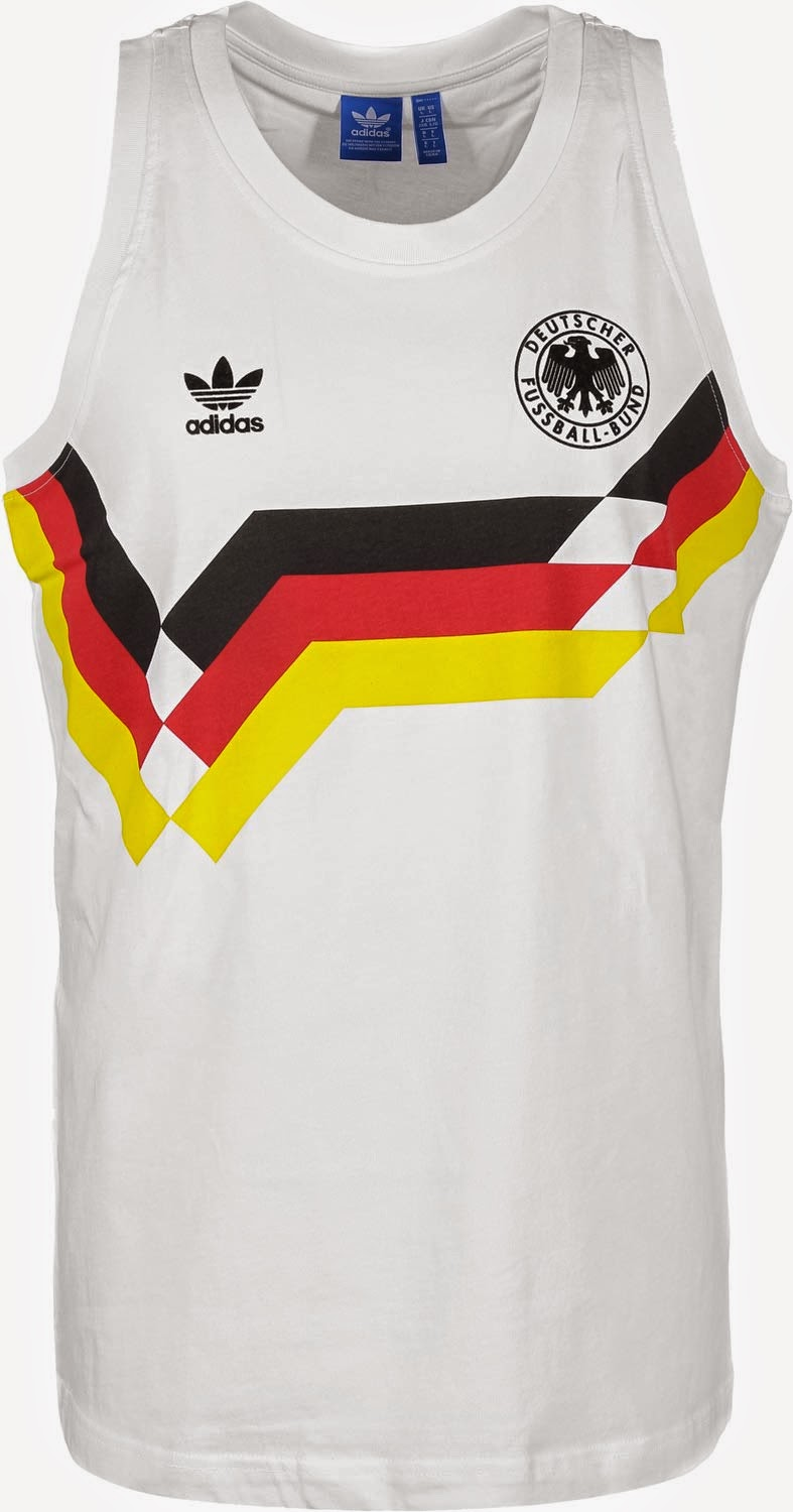Spawnzon Blog: adidas Originals Deutschland WM 1990 Retro Tank Top