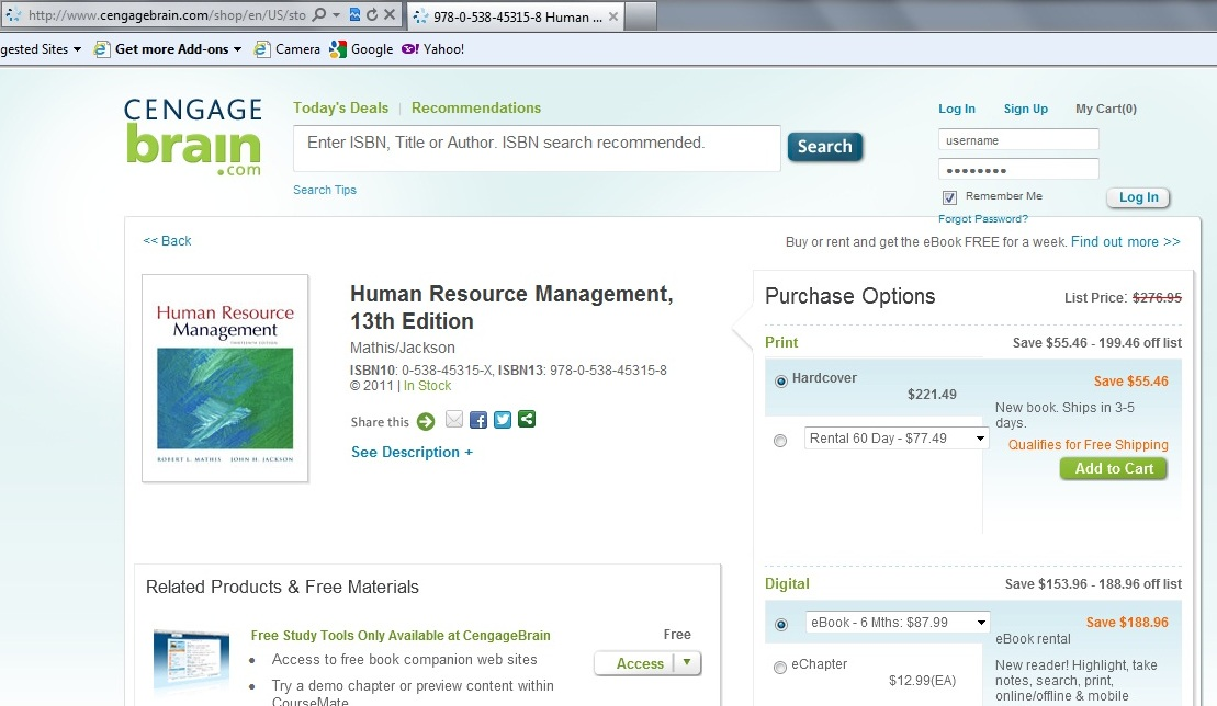 Texas hr pros november 2012 bookbyte is offering mathisjacksons human resource management 12th edition for 278 fandeluxe Gallery