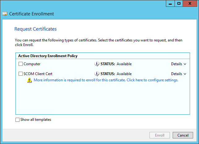 Scom certificate for gateways untrusted servers system center you can also find it from your certsrv website at httpsfqdncertsrv if you have web enrollment enabled on your active directory certificate services yelopaper Image collections